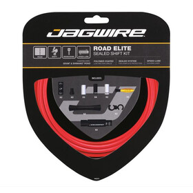 Jagwire Elite Sealed Set cavo del cambio, red
